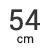 54 cm