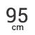 95 cm